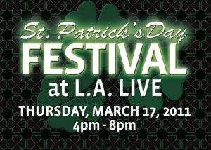St Patrick S Day Universal City Amp Los Angeles