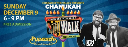 chanukah @ CityWalk