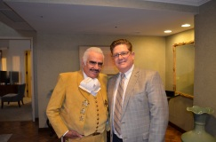 Vicente Fernandz With Mark Davis  (Hilton Universal's General Manager)