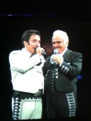 Vicente Fernandez  & His Son